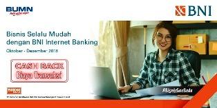 BNI Internet Banking Hadir dengan Fitur-fitur Lebih Menarik