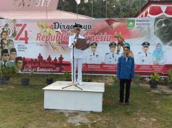 Kepala Desa Resam Lapis Apresiasi Antusiasme Masyarakat Resam Lapis Ikuti Upacara