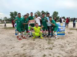 Laga Final. Pemprov Babel FC Angkat Trofi Erzaldi Cup 2019