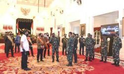 Panglima TNI Tinjau ke Istana Negara Sekaligus Gladi Bersih Jelang HUT Ke-75 TNI