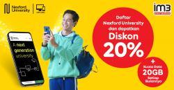 Indosat Ooredoo Bersama Nexford University Berikan Beasiswa untuk 10.000 Pelajar Indonesia
