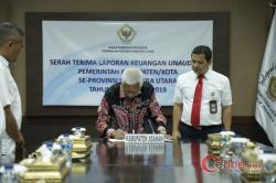 LKPD Kabupaten Asahan TA 2019, Diserahkan ke BPK RI