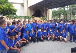 DPD KNPI Kampar Laporkan Oknum Kerusuhan Pelantikan KNPI Kampar