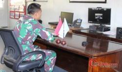 Satgas TNI RDB Silaturahmi Virtual dari Nairobi Afrika Timur