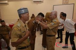 45 Kepala Desa Terpilih Tahun 2019 Ikuti Pembekalan Dimarina Hotel Kisaran