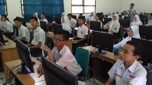 UNBK Hanya Diikuti 12.179 Siswa SMP/MTs di Riau