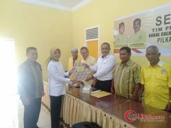 Maju Pilkada Asahan 2020,Paslon Nurhajizah-Hendri Telah Mendaftar di Tujuh Parpol