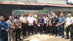 Sambut Ultah Satpam Ke- 39,  Sat Binmas Polres Rohil Beri Bantuan Pada Satpam Kurang Mampu