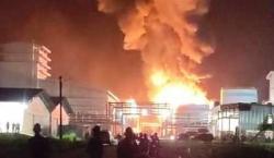 PKS PT Sari Dumai Oleo Meledak, Kabarnya 2 Tewas Terbakar