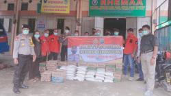 Ormas Pemuda Batak Bersatu Bersama Polres Rohil Gelar Bhakti Sosial