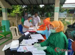 KPU Asahan Gelar Rapid Tes Secara Serentak