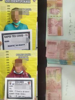 Diduga Lakukan Pungli , Polres Rohil OTT Dua Oknum PNS Bangko Pusako