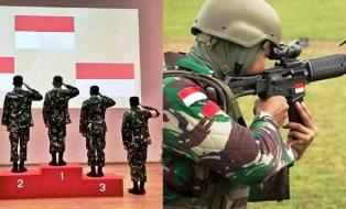 TNI AD Juara Umum Lomba Tembak Asia