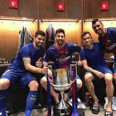 Leo Messi Dan Suarez Torehkan Rekor Baru Usai Bantai Sevilla Difinal CDR