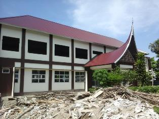 Pembangunan SMA 1 Sungai Abang Mangkrak, Ini Kata Ketua Komite