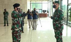 Di Mabes TNI Cilangkap, Panglima Pimpin Alih Kodal PPRC TNI