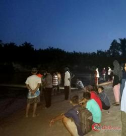 Warga Gang Kancil Kisaran Hanyut di Sungai Silau Beting