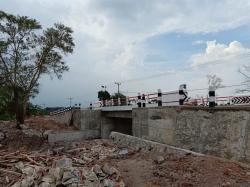 Pengerjaan Proyek Jembatan Lubuklingkuk Rp 4,7 Miliar Molor, Kontraktor Terancam Blacklist