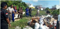 Polres Bengkalis Musnahkan Barang Bukti Hasil Tangkapan
