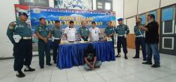 Mantap,! Lanal TBA tangkap TKI Ilegal bawa Sabu dari Malaysia