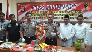 Kapolda Banten Terangkan Kasus Jaringan Pembobol ATM Lintas Daerah
