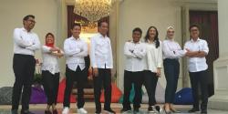 Pemuda Milenial di Istana Presiden, Siap Bantu Pemerintahan Jokowi - Maruf