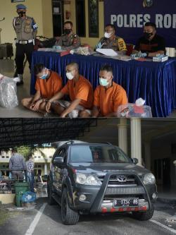 Terungkap : Motif Karena Dendam, Tiga Pelaku Pembunuhan di Tanjung Medan Berhasil di Tangkap
