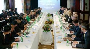 Para Pimpinan Perusahaan Australia lakukan Pertemuan dengan Jokowi