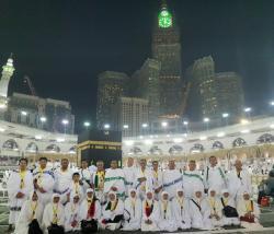 Rombongan Jamaah Umrah Riau Lakukan Doa Minta Hujan Bersama di Makkah Terkait Asap