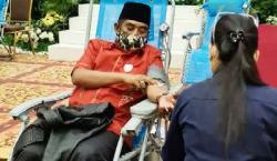 Masuk Bulan Ramadhan Relawan Peduli dan PMI Riau Taja Donor Darah