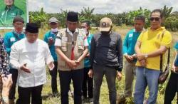 Peletakan Batu Pertama Pondok Pesantren Rusli Al Saadah oleh Ketua Umum STN , KH. Rusli Ahmad, SE
