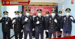 Masker Hasil Karya Anak Binaan Lapas Kelas II A Bengkalis Disumbangkan