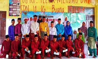 Program Siak Cerdas, Baznas Siak Bagikan Beasiswa untuk 30 Siswa di Dayun