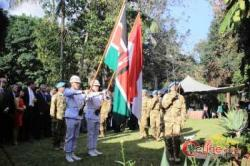 Dihalaman Wisma Duta RI, Nairobi, Kenya, Parjurit Tampilkan Seni Budaya