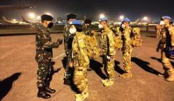 23 Personil Wanita TNI Bertolak Bawa Misi Perdamaian