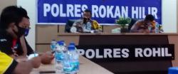Kapolres Rohil  Resmi Larang Ormas FPI Lakukan Kagiatan dan Aktivitas
