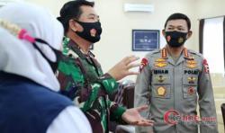 Di Madiun, Panglima TNI dan Kapolri Pimpin Rapat Bersama Gugus Tugas Covid-19