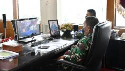 Kasum TNI Hadir Secara Virtual Peringatan Haktenas ke-25