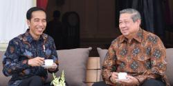 Pertemuan Jokowi dan SBY di Istana Merdeka Tertutup