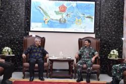 Panglima TNI Terima Audiensi Kua KPU Jelang Pilkada 2020