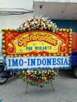 IMO Indonesia Kirim Karangan Bunga Kepada Jenderal (Purn) Wiranto