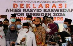 ANIES Deklarasi Dukung Anies Baswedan Maju di Pilpres 2024