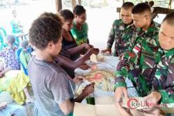 Ketua RT Apresiasi Satgas Yonif 411 Kostrad Dirikan Rumah Tempe Untuk Warga