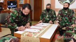 Kapuspen TNI Pimpin Sertijab Dua Jabatan Strategis Puspen TNI