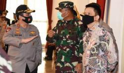 Jelang Pelantikan Capaja, Kasum TNI Hadiri Geladi Bersih Praspa TNI-Polri