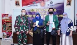 George Elnadus Supit Harap Mahasiswa Dapat Menjadi Garda Depan Pemutus Mata Rantai Penyebaran Covid-