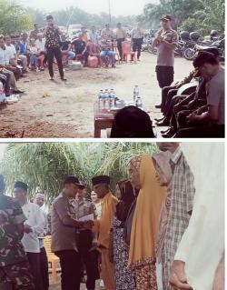 Polres Rohil Salurkan Zakat Profesi Bagi 228 Warga Lansia Di Mamugo