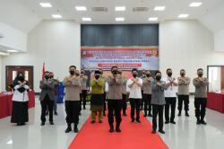 Biro SDM Polda Riau Canangkan Pembangunan Zona Integritas Menuju WBK dan WBBM