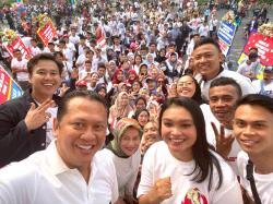 Ketua MPR RI Bamsoet Ajak Pemuda Indonesia Satu Barisan Memajukan Indonesia
