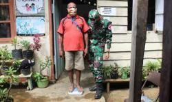 Satgas Yonif 125/SMB Distrik Sota Gelar Posyandu Bagi Lansia